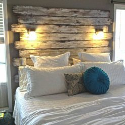 Weathered Headboard