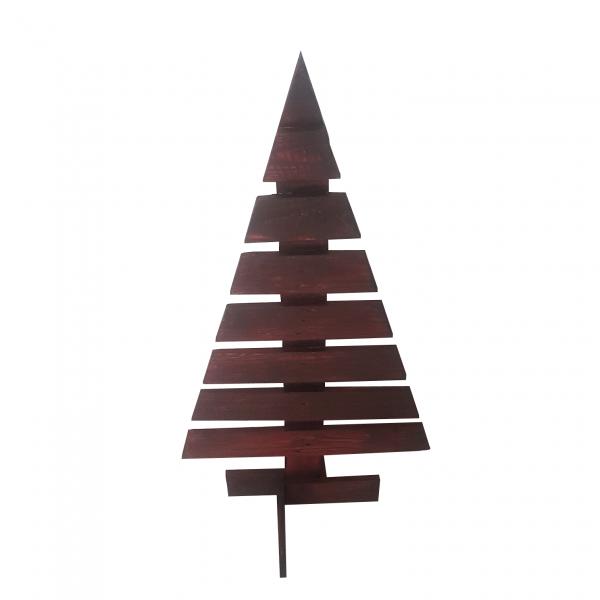 Dark Stained Christmas Tree