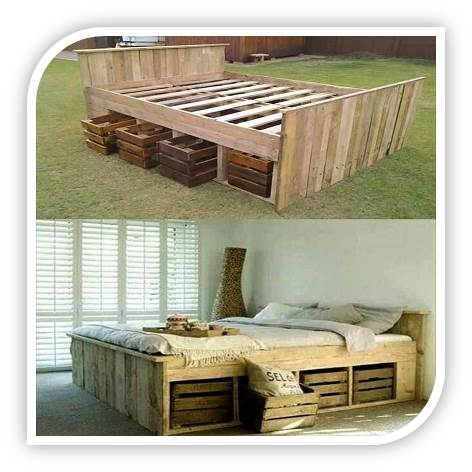 Pallet Kists in a variety of designs